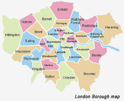 LondonBoroughMap